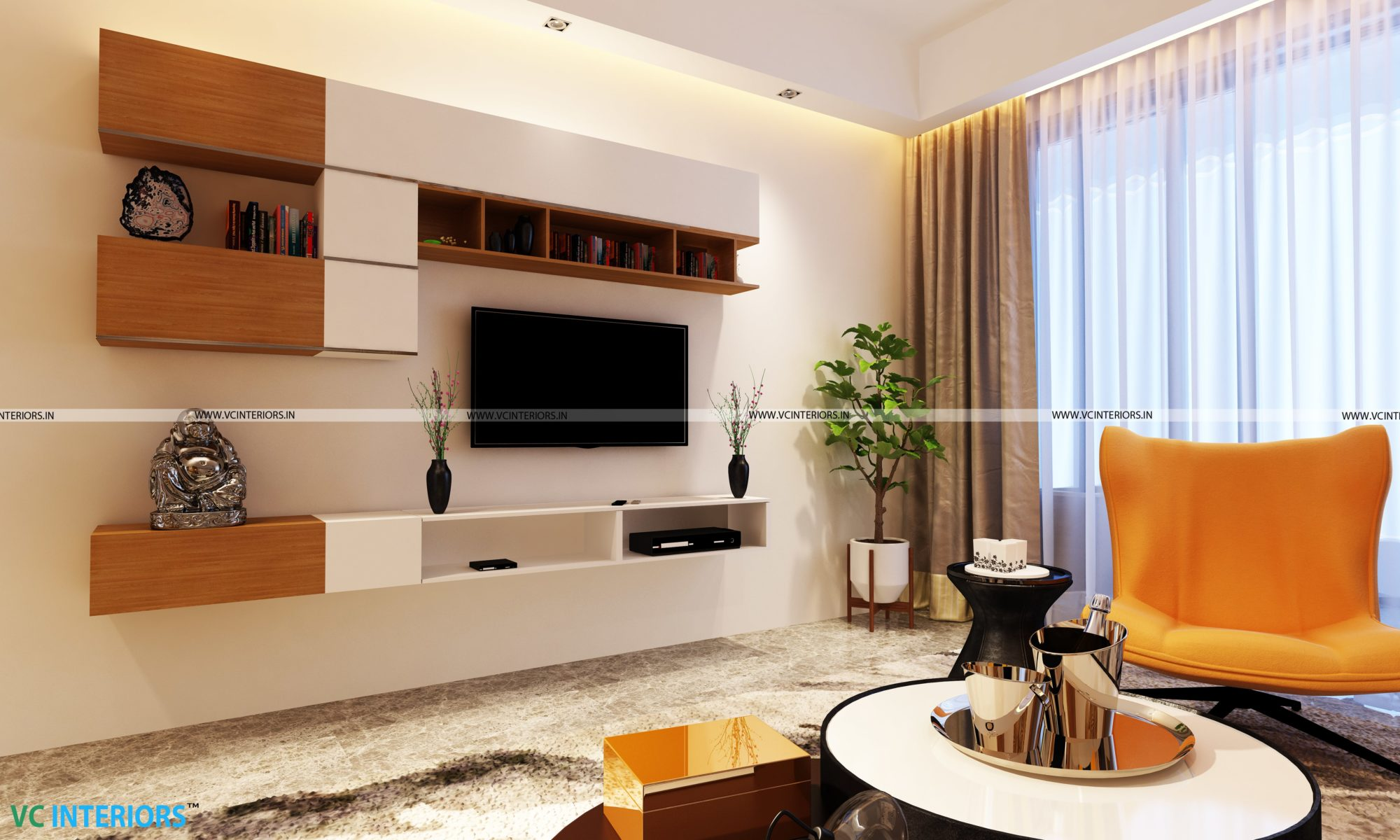 TV Unit Design- VC Interiors