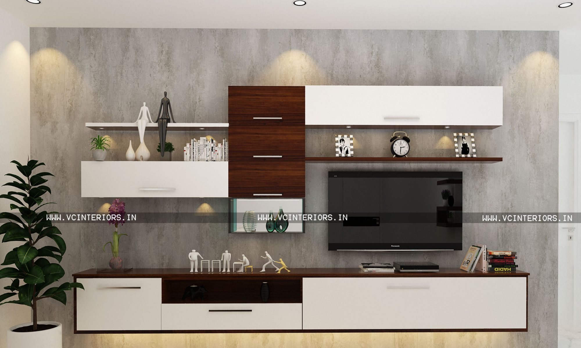 Latest TV Unit Design Ideas - VC Interiors