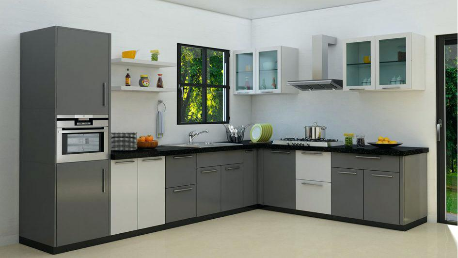 VC Interiors L Shape Kitchen Design