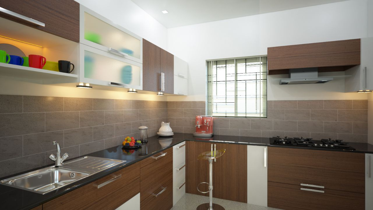 Modern Kitchen in Kerala