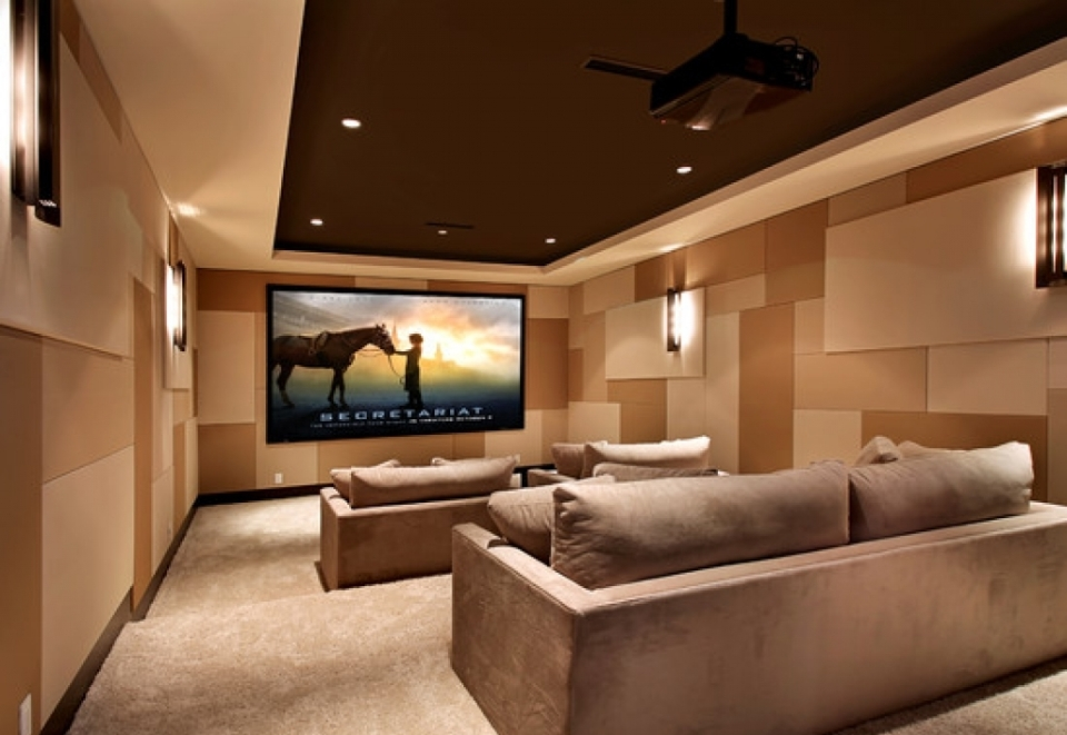 VC Interiors Home Theater Design