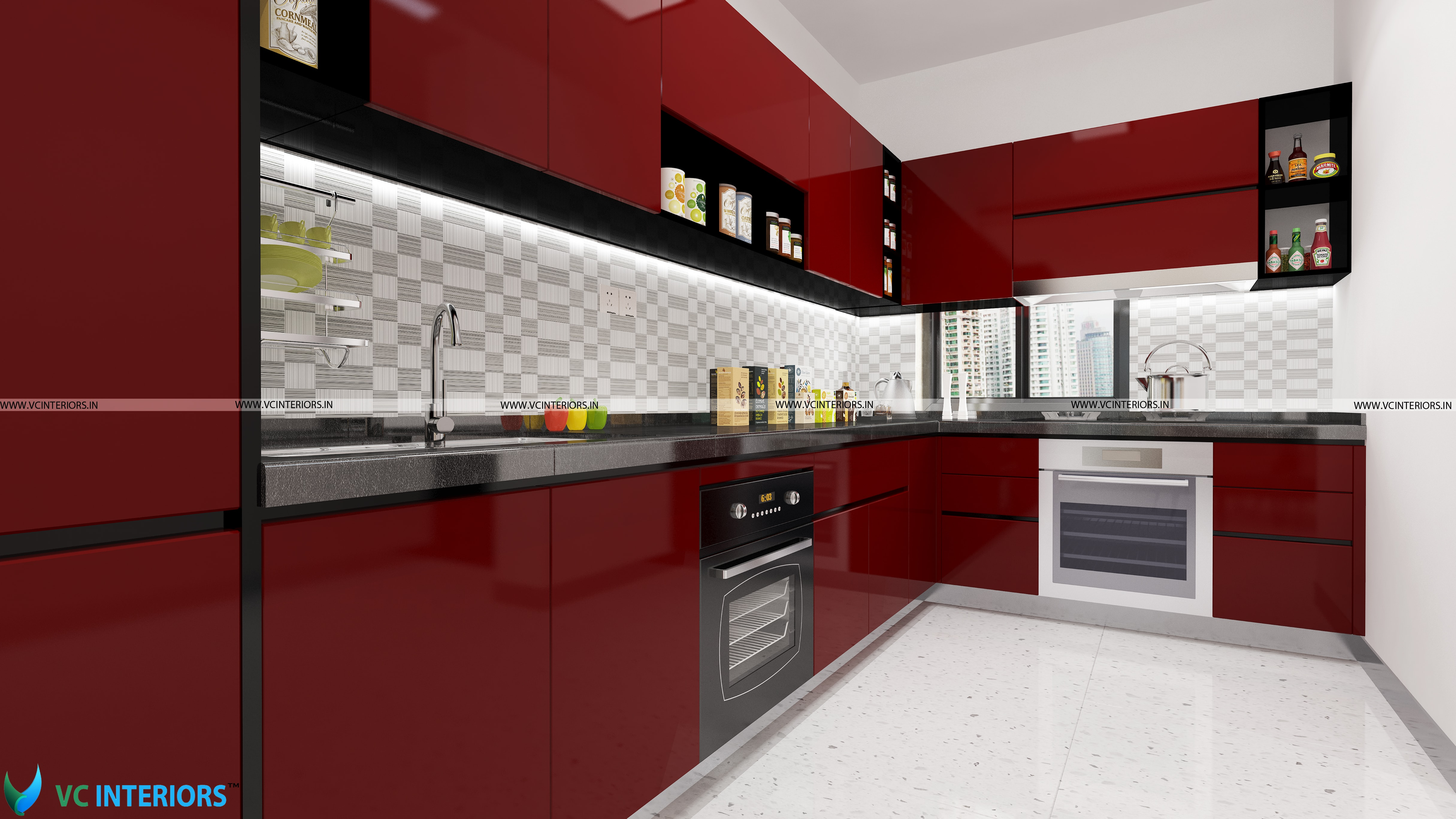 modular kitchen-vcinteriors