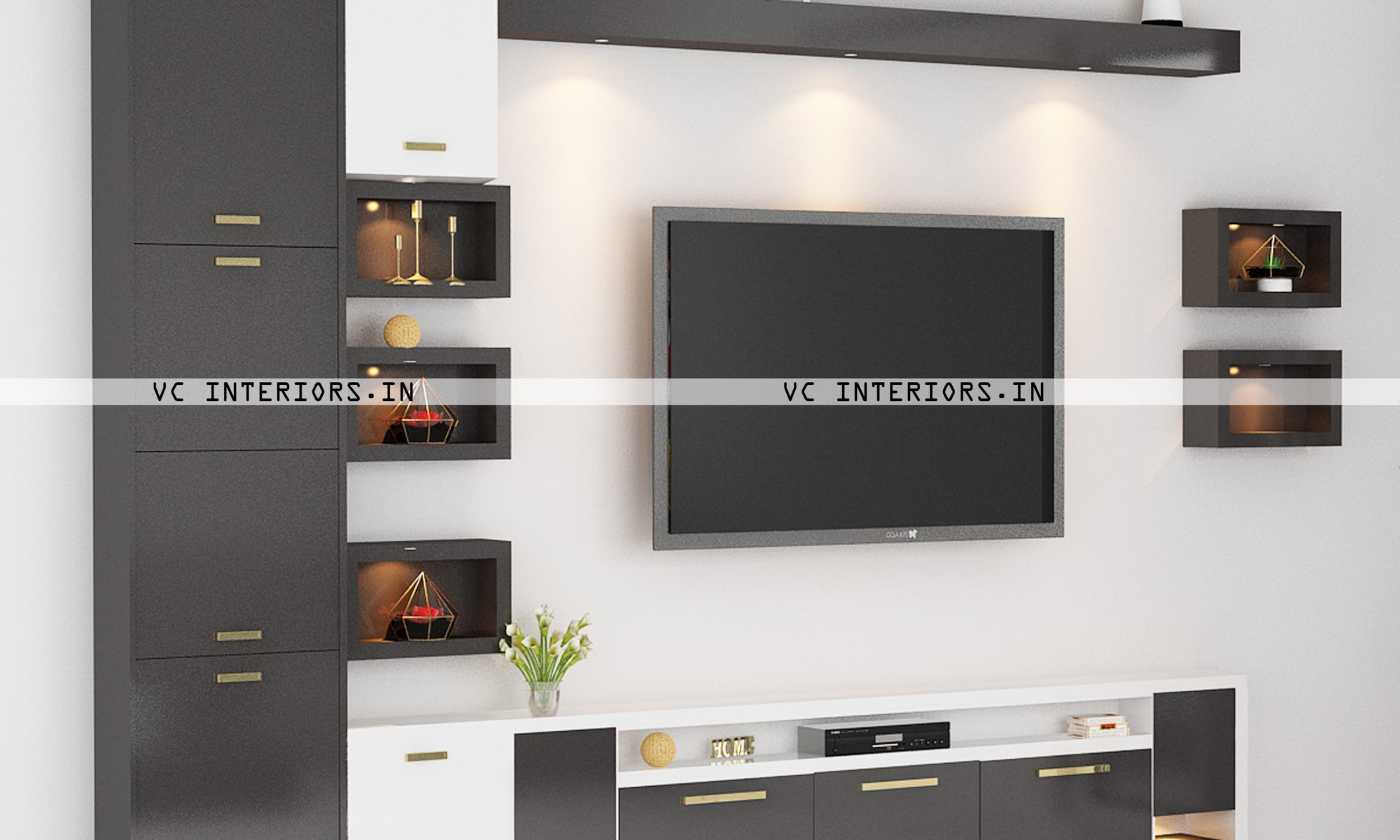 TV Unit Designers - VC Interiors