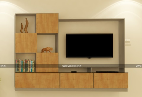 Modern TV Unit Design Ideas - VC Interiors